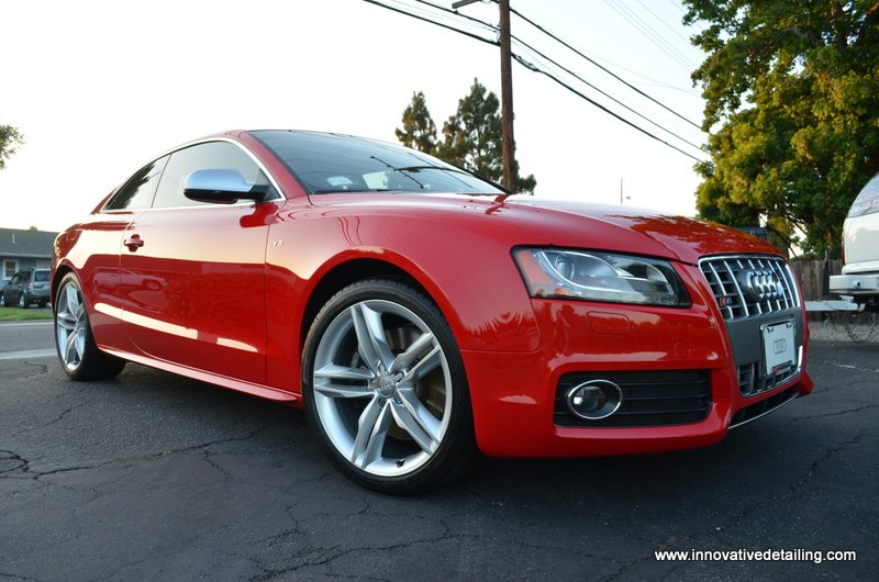 Lipstick Red Audi S5 Wet Look Innovative Detailing